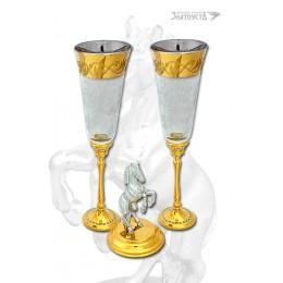 """Бокалы для шампанского """"Удача"""""""